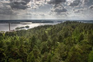 Endless lakes, Clouds, and trees HDR 1 by shadowlemon
