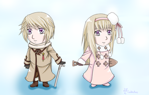 Chibi Russias by GoldieAuvs