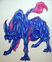 Cheshire Wolf by LastHarliquin