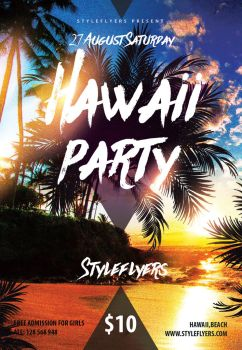 Hawaii-party by Styleflyers