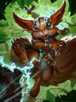 SMITE - Ratatoskr Armored Scurrier by ChrisBjors