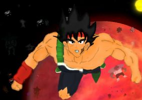 Bardock is in the way by goliad