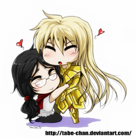 Chibi love gift by Tabe-chan