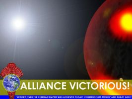 Alliance Victory Report Screen by FacepalmPunch