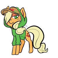 Apple Hood by Mini-Tea