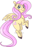 flutters by Puffedwarrior