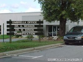 The Umbrella Office by Wesker-Chick