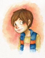 ROTG - Jamie Bennett watercolour by 8BitMelonKid