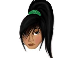 Modern Mulan WIP by Neon-Light-Cortege