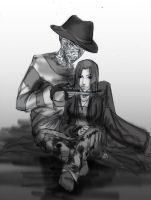 Freddy and Maryan by TyrineCarver