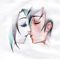 TDI trent and gwen kiss by keytaro
