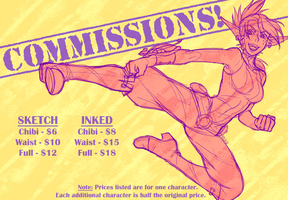 Commissions are OPEN by piku-chan