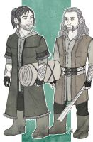 Fili and Kili - To the Shire by lilis-gallery