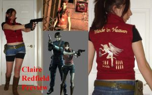 Claire Redfield Preview by minako55nz