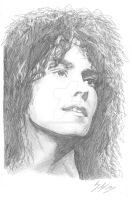 Marc Bolan drawing by trixy-bernadotte