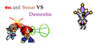 Rhs and sonar vs dementio by HearthAceRed