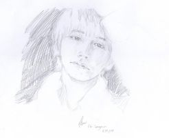 Quick Draw : Lee Sungmin by CheekyFlower
