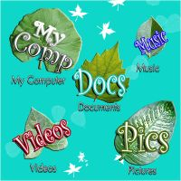 DOCK LEAF ICONS by Arclight-17