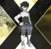 POKEMON XENOVERSE CHARACTER: TREY! by WEEDleChannel