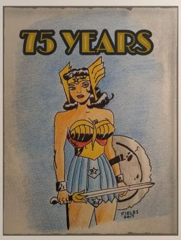 75 Years of Wonder Woman by bfields9187