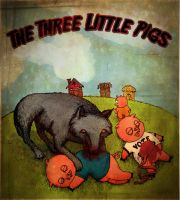 The Three Little Pigs by aldingerous