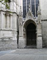 Cathedral Side Door... by the-night-bird