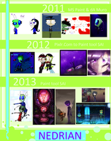 aRT cOMPLEATION  [2011-2013] by Nedrian