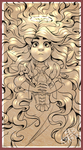 rose gold saint {with lineart tut} by BabaKinkin