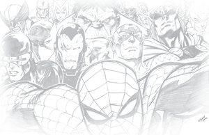 MY MARVEL UNIVERSE by jerkmonger