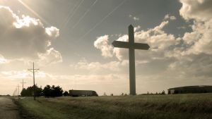 Second Biggest Cross by siposh