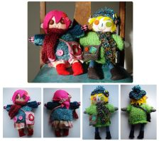 Character dolls by SaltyMoose