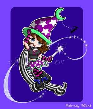Punky Little Witch by clrkrex - Cad�Lara AvatarLar :)