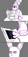 bonnie's reaction to the redesign by qunsmoke