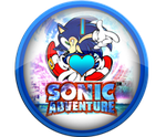 I Love Sonic Adventure Badge by darkfailure