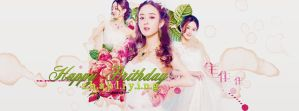 HAPPY BIRTHDAY TO ZHAO LI YING by Shawolki