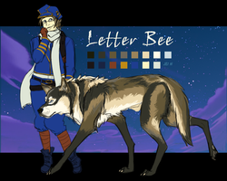 Letter Bee by WithoutName