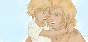 finnick and son by finnodair