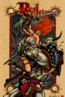 Red Sonja colours by james-t