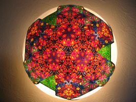 kaleidoscopic light fixture 1 by nexusjinn
