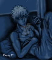 Ichigo in his room close up by peca06
