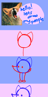 How to Draw a Simple Fox by DoddleFur