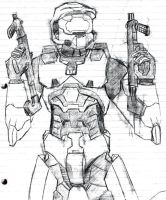 Master Chief by SPARTAN-127