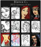 2015 Summary of Art by Blanca-Cardenas