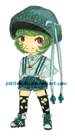 Adoptable Bulbasaur Gijinka [sold] by PetiteBubu