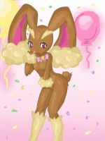 Vainilla- the Lopunny by Kikulina