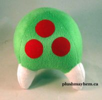 Metroid plush by PlushMayhem