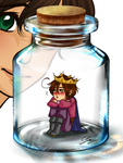 Lovino in a bottle meme 2 by x-Lilou-chan-x