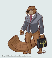 Busy Beaver Vector by CrypticManifestation