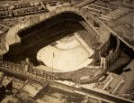 Yankee Stadium. 1956 by deadboyinc