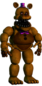 Unwithered Fredbear by GoldenNove